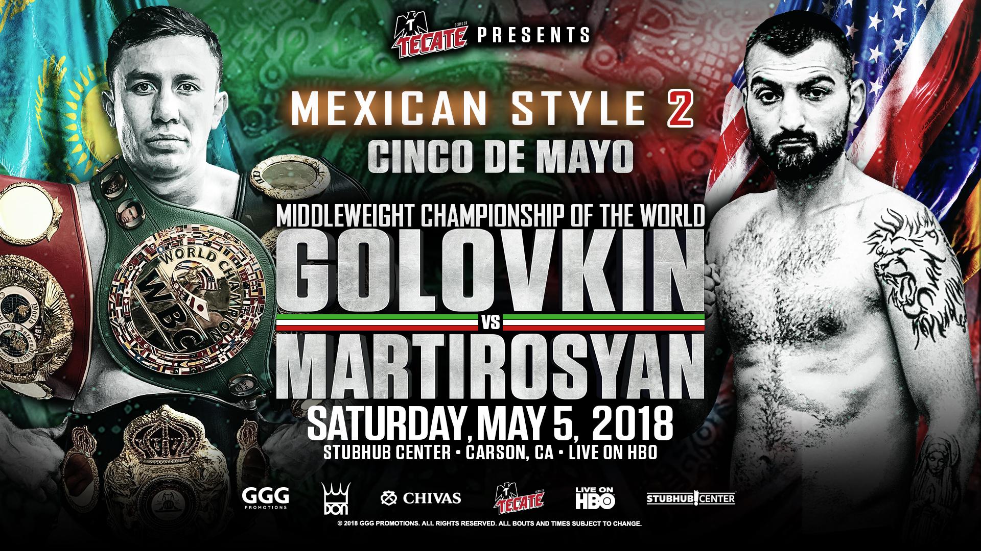 Végleges: Golovkin Martirosyan ellen bokszol május 5-én, Canelo fél évet pihen