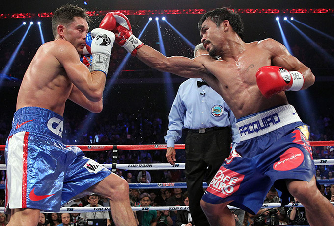 Manny Pacquiao vs. Chris Algieri (vide�)